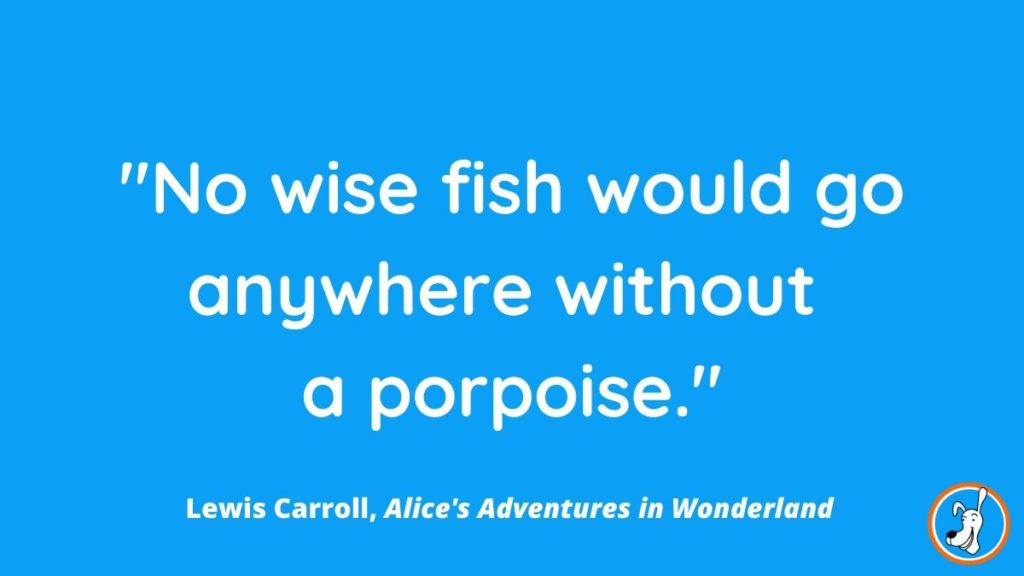 children's book quote from Alice's Adventures in Wonderland by Lewis Carroll