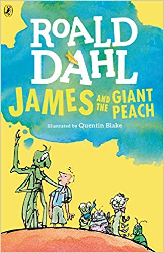 Image of James and The Giant Peach by Roold Dahl