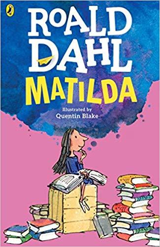 image of Matilda by Roald Dahl