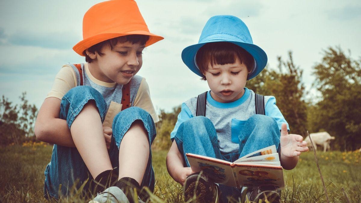 Image of boys reading fluently