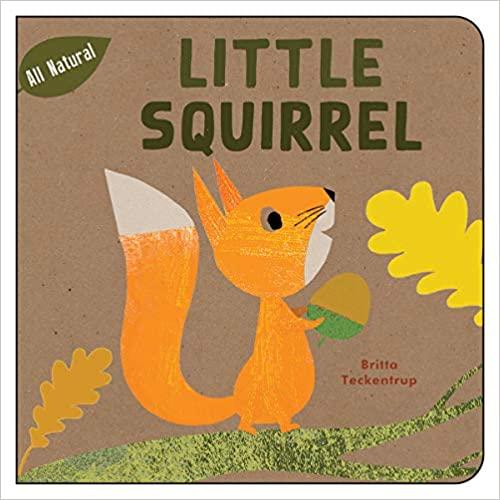 image Little Squirrel by Britta Teckentrup