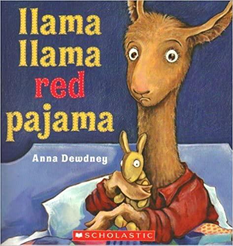 image Llama, Llama Red Pajama by Anna Dewdney
