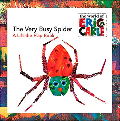 image The Very Busy Spider by Eric Carle