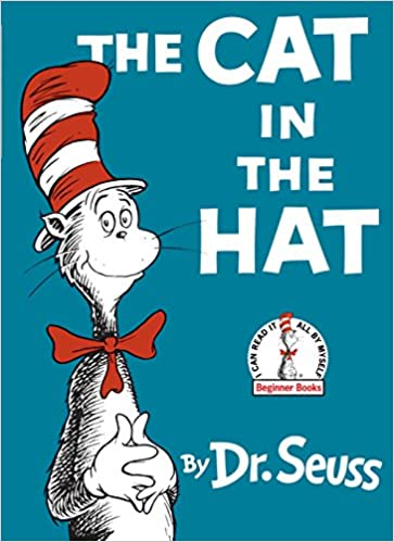image The Cat in the Hat by Dr. Seuss phonemic awareness book