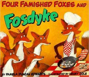 Four Famished Foxes alphabet letter F alphabet letters phonics for kids