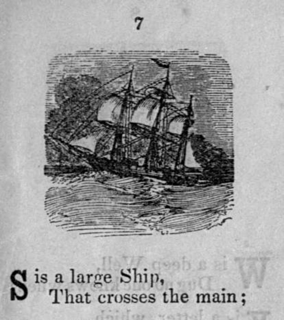 S is for ship alphabet books for teaching phonics