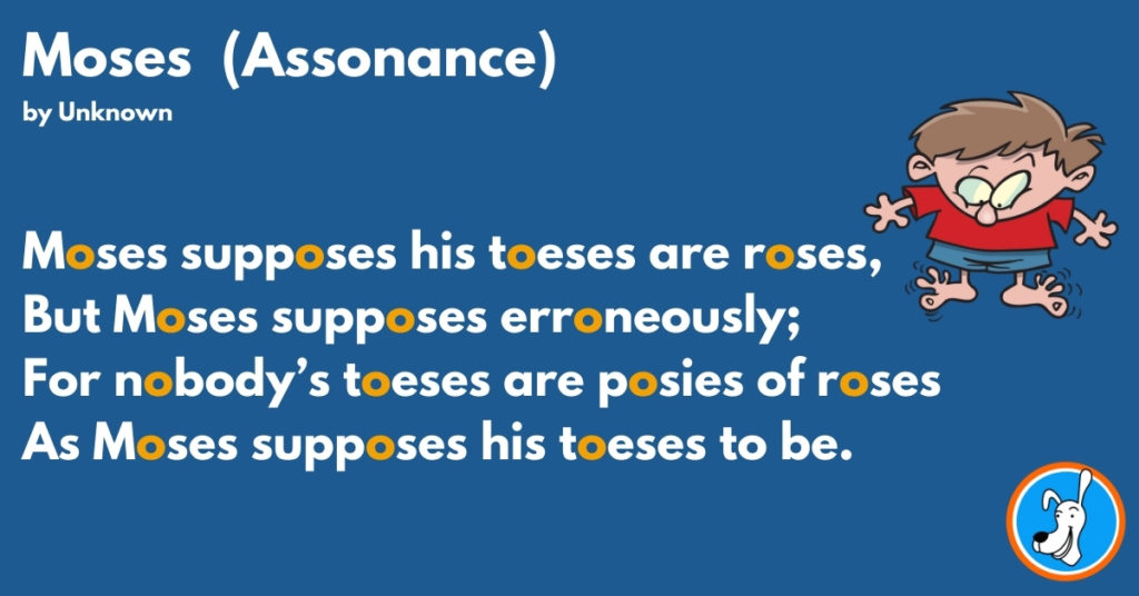 assonance example